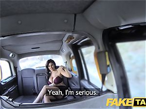 fake taxi Frustrated big-boobed Candy Sexton