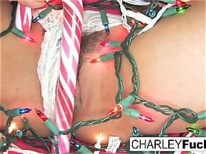 Charley Gets Some Christmas man meat