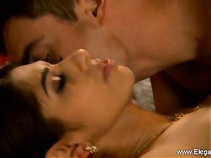 Exotic Indian couple examine enjoy