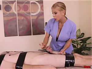 Alexis Fawx gives red-hot blessed completing