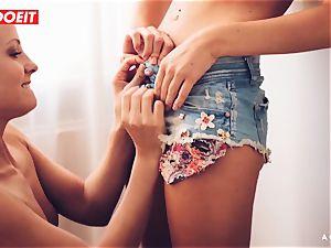 LETSDOEIT - ultra-kinky lesbos enjoy tonguing Their delicious vags