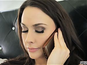 Spizoo - witness Chanel Preston throating and tearing up
