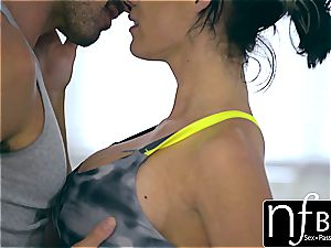 NF big-boobed - Peta Jensen's shivering orgasm pound