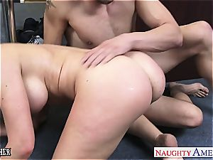 big-boobed fucky-fucky schoolteacher Veronica Avluv boning