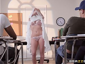 Christie Stevens bent over and plowed doggie