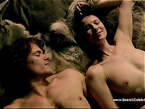 Caitriona Balfe in super-fucking-hot hook-up sequence from Outlander