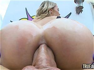 TRUE rectal elastic arse Mia Malkova rectally gaped