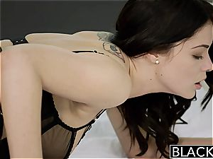 BLACKED brit wife Ava Dalush likes fat black fuck-stick!