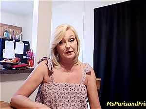 Ms Paris Rose in Paying Your Debt with My puss