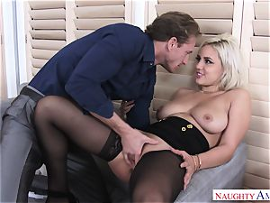 Kylie Page And Ryan kinky Office
