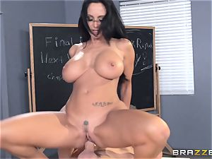 huge-chested educator Ava Addams is smashed by her student