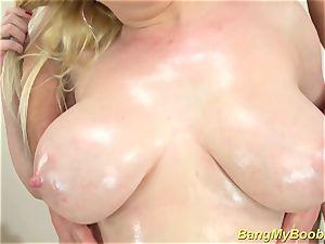 lubed lush cougar boobies bap plumbed