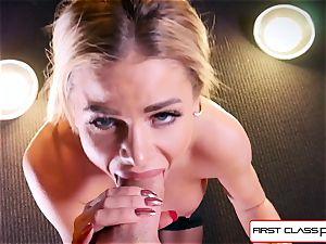 witness Jessa Rhodes taking a thick manhood down her hatch