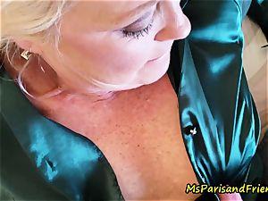 gorgeous Satin experiences with Ms Paris Rose